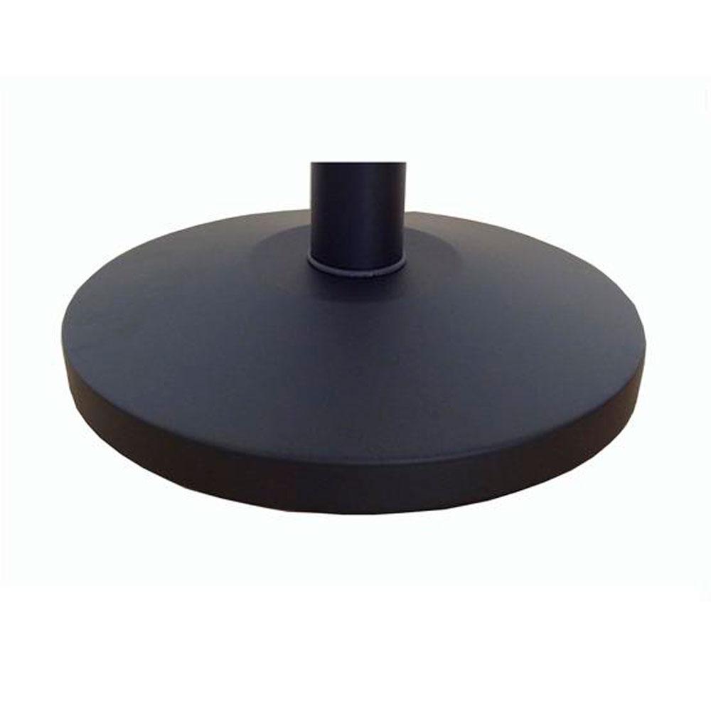 """Стойка с вытяжной лентой Barrier Belt 05  """"Матовая"""" черная (лента 2,5 м)"""