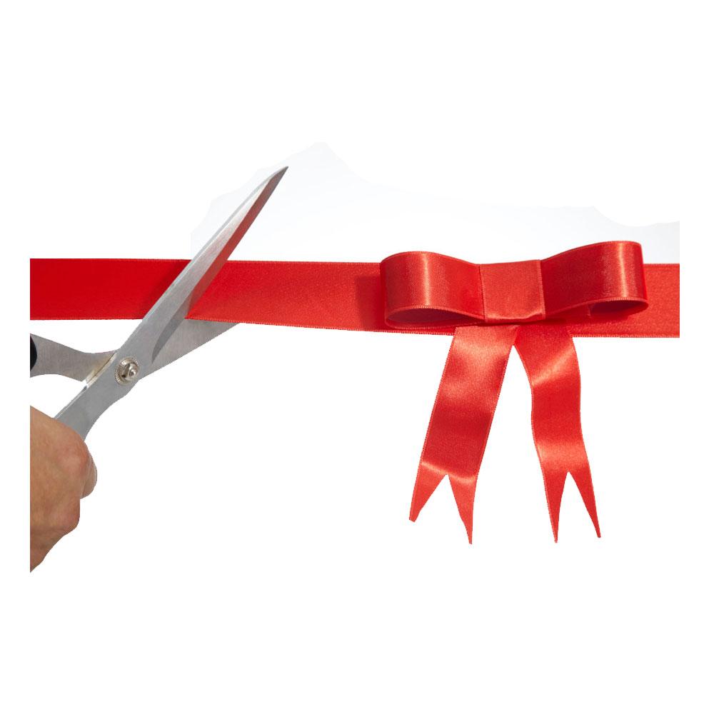 Набор Grand Openning (красная подушка, ножницы, атласная лента и 2 имидж-стойки)