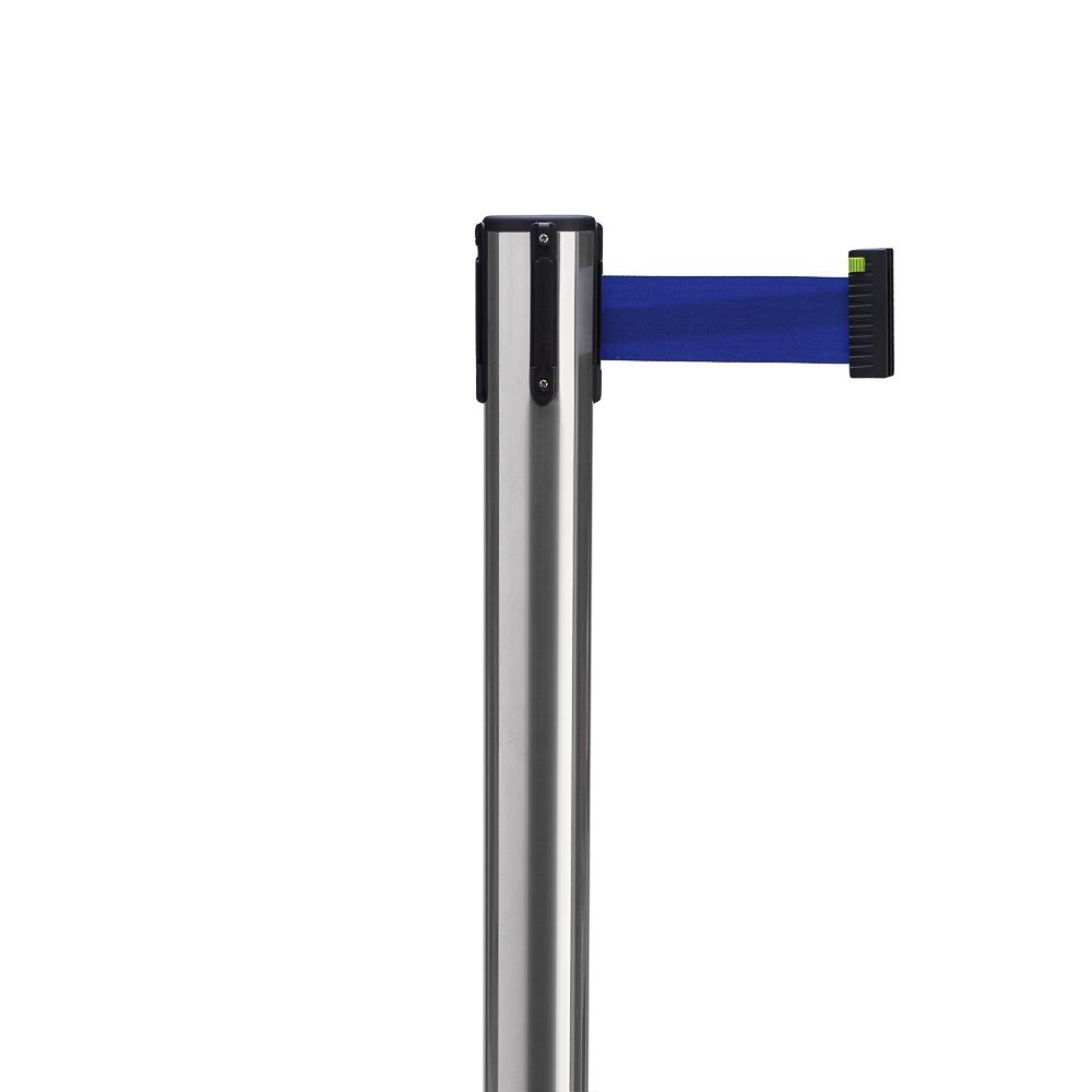 Столбик с вытяжной лентой ArtBarrier Standart (лента 2,3 м)