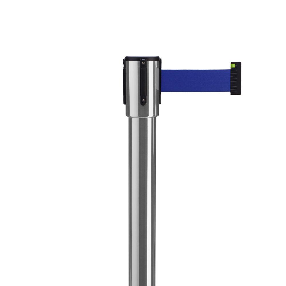 Столбик с вытяжной лентой ArtBarrier Оptima (лента 4,0 м)
