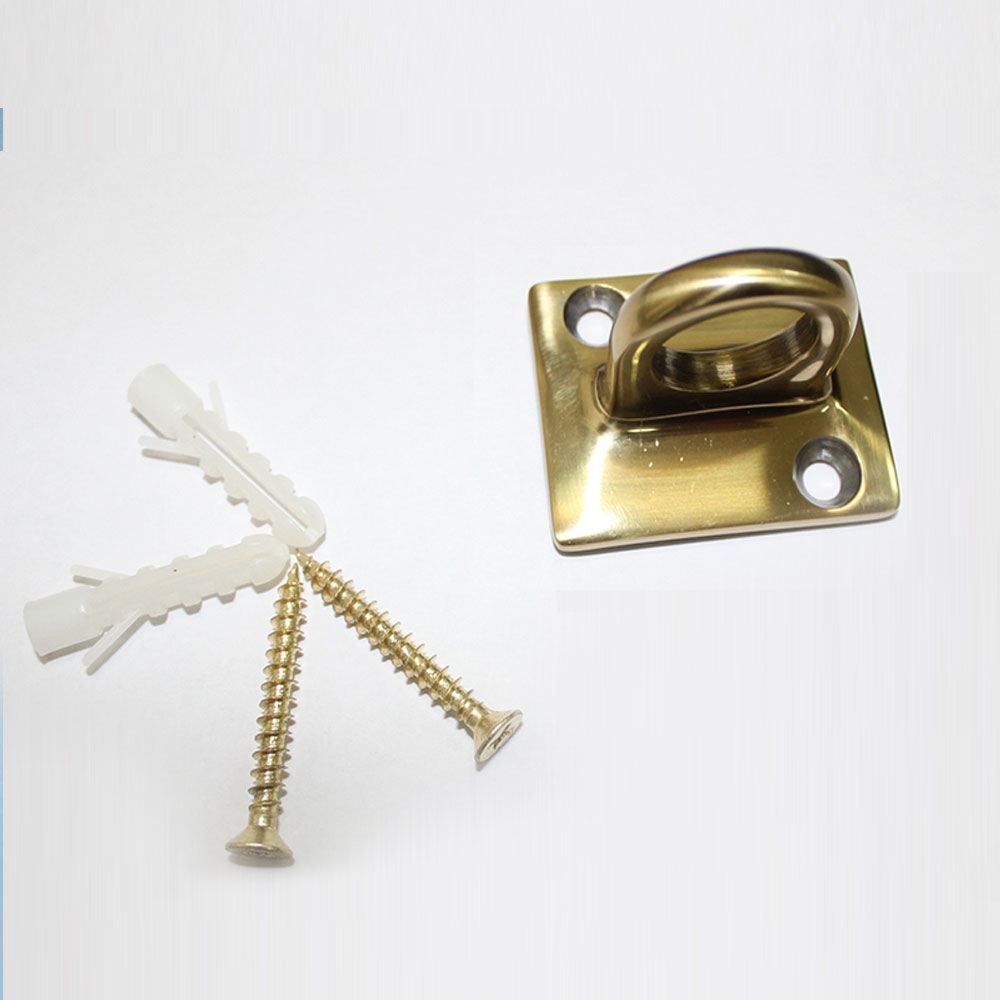 """Настенное крепление (держатель каната) Barrier Classic """"Золото"""""""