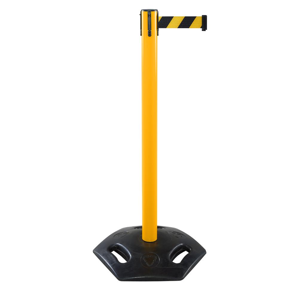 Индустриальная стойка Barrier Belt Industrial (Yellow, лента 3,0 м)