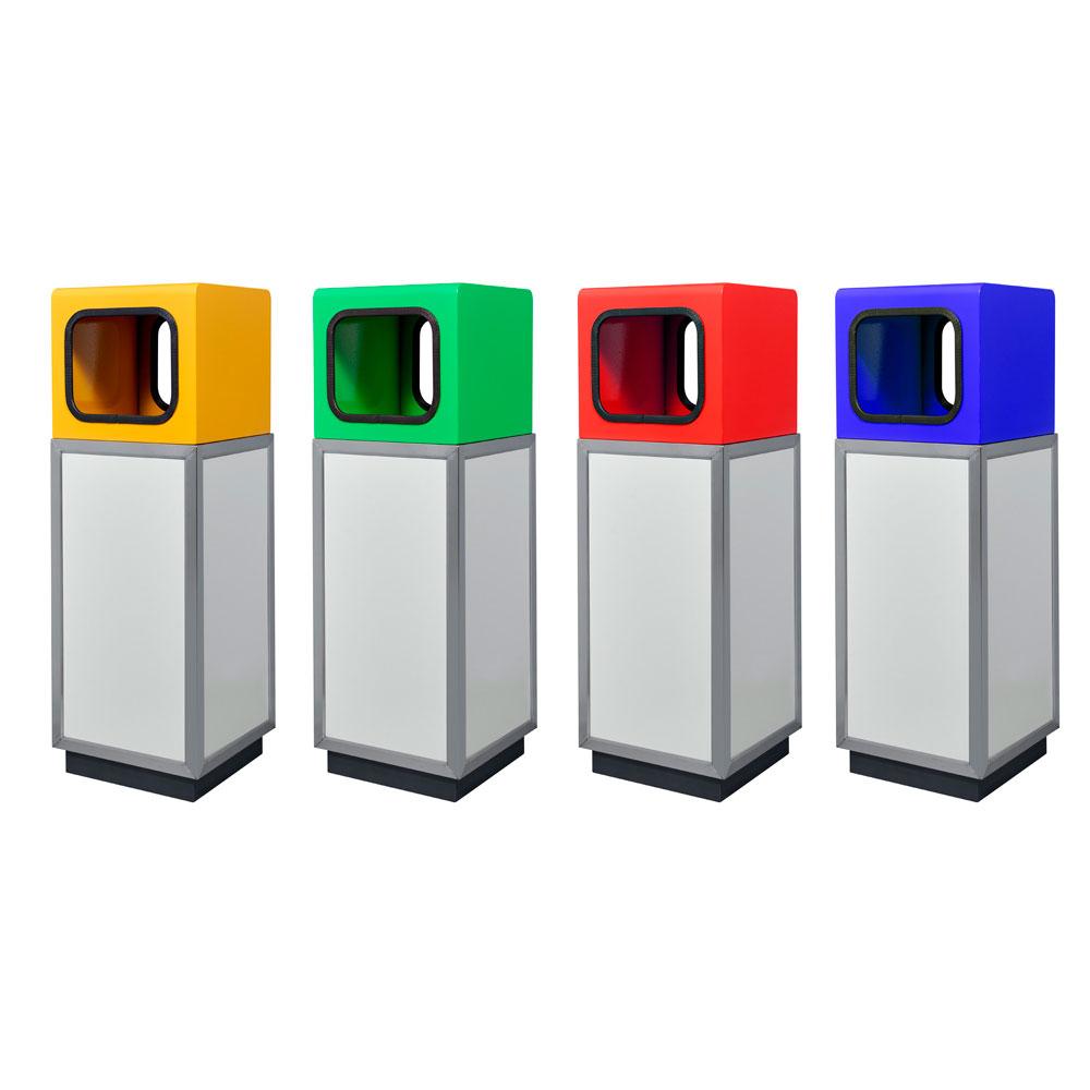 Урна для раздельного сбора мусора Allegro-4