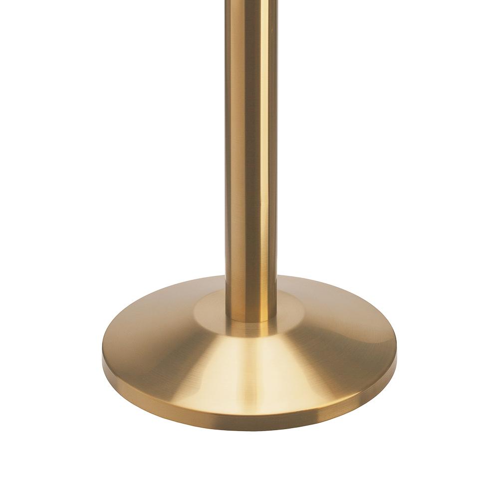 """Стойка с вытяжной лентой ArtBarrier Aurum  """"Золото"""" (лента 2,5 м)"""