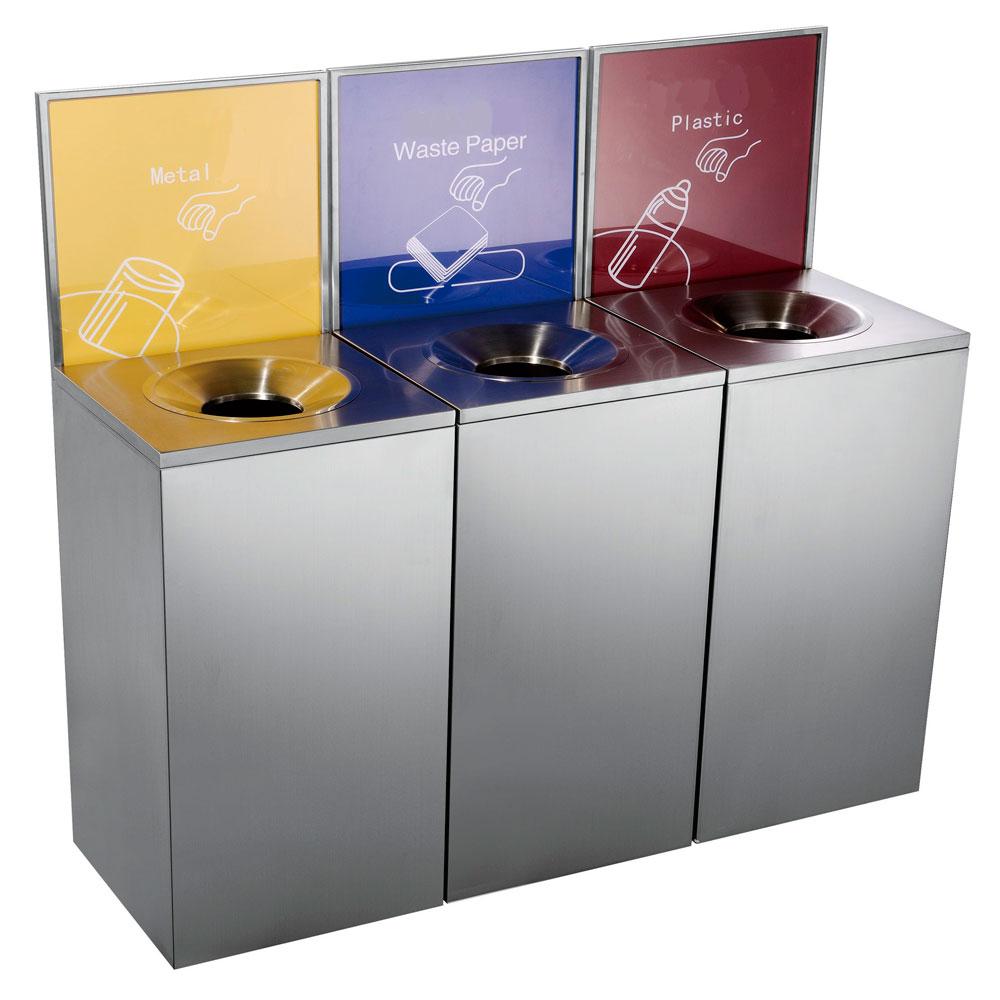 Модульная урна с информационной рамкой Artbin Comodo